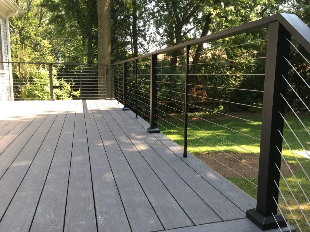 Aluminum Porch Hand Railing San Jose