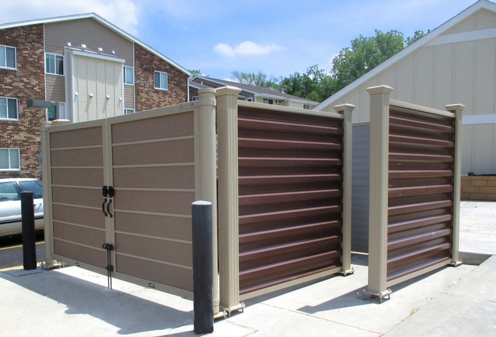 Dumpster Enclosures Installation San Jose